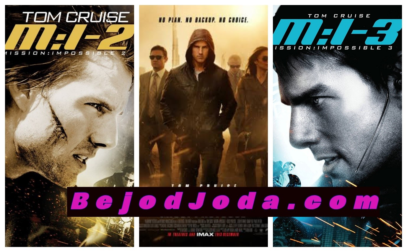 Film Mission Impossible series posters