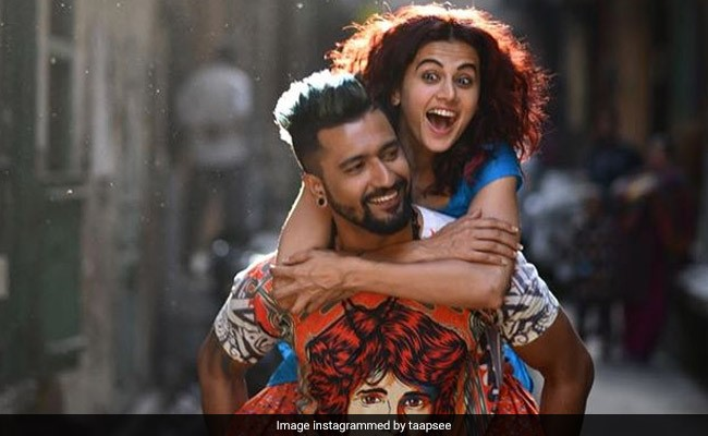 Tapsee Pannu on Vicky Kaushal back in film Manmarziyaan