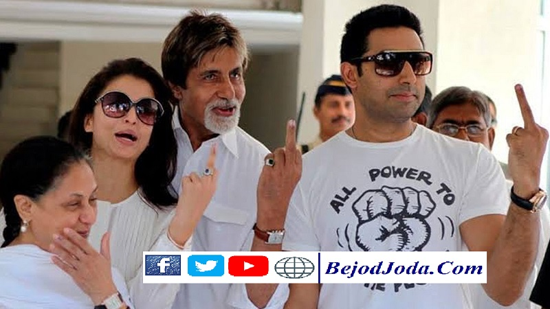 Loksabh Election 2019 - Bollywood Stars Voted in Mumbai